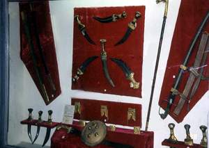 Old Antique Weapons